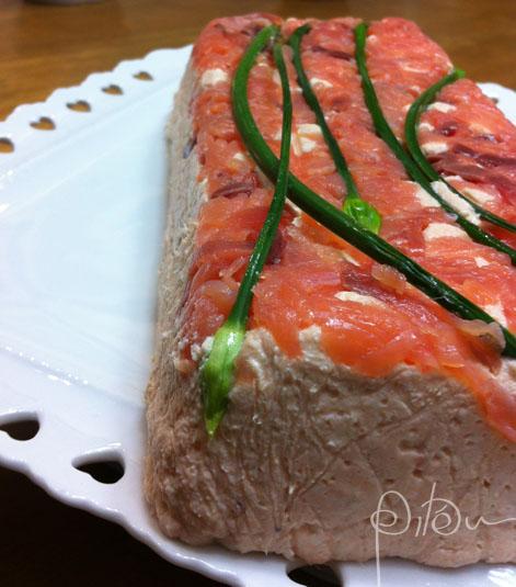 terrine salmão