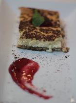 Cheesecake de tiramisu. Foto: Karina Muniz