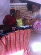 DJ Sankofa de Gana, no mic e música da Rádio Comunitária.
